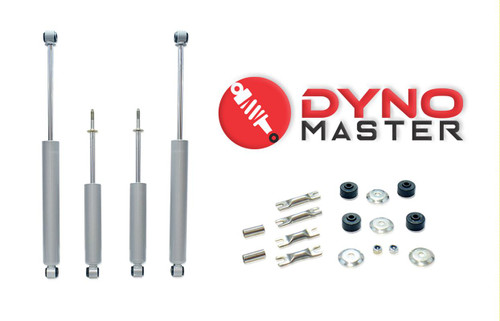 """Drop Shock Kit For 6"""" / 4"""" Lift (Coils or Spacers, Spindles, and Blocks) on 02 - 08 Dodge Ram 1500 2WD"""