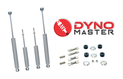 """Drop Shock Kit For 7"""" / 4"""" Lift (Coils or Spacers, Spindles, and Blocks) on 02 - 08 Dodge Ram 1500 2WD"""