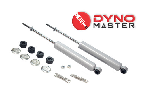 """Front Lift Shock Set For 1"""" Lift Coils or Coil Spacers on 09 - 18 Dodge Ram 1500 2WD"""