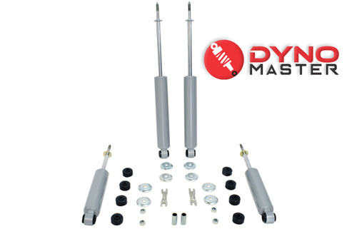 """Drop Shock Kit For 4"""" / 7"""" Drop (Coils, Spindles, Flip Kit, and Shackles) on 97 - 03 Ford F-150"""