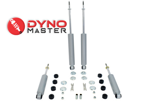 """Drop Shock Kit For 4"""" / 6"""" Drop (Coils, Control Arms, and Flip Kit) on 97 - 03 Ford F-150"""