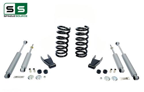 """99 - 06 Silverado / Sierra 1500 (V8)  2"""" / 2"""" Coil Drop Kit + Shocks"""