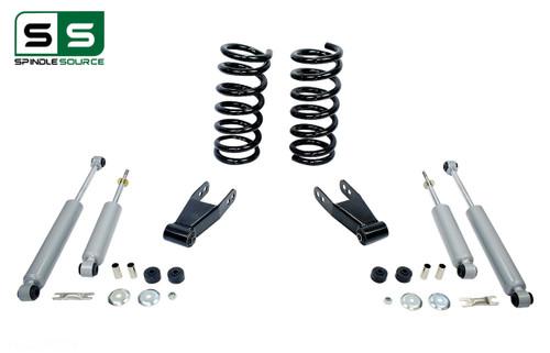 """99 - 06 Silverado / Sierra 1500 (V6)  2"""" / 2"""" Coil Drop Kit + Shocks"""