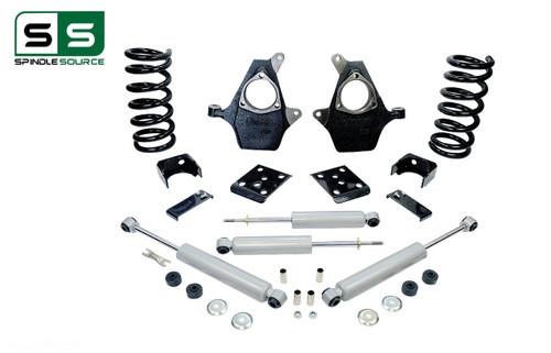 "99 - 06 Silverado / Sierra 1500 (V8)  5"" / 6"" Drop Kit + Shocks"