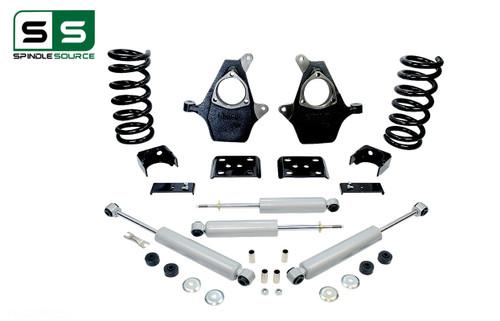 "99 - 06 Silverado / Sierra 1500 (V6)  5"" / 6"" Drop Kit + Shocks"