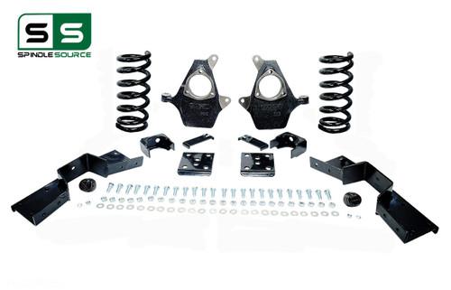 "01 - 06 Silverado / Sierra 1500 (V8)  5"" / 6"" Coil Drop Kit + C-Notch"