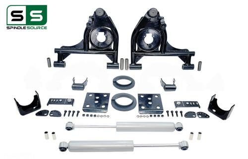 "99 - 06 Silverado / Sierra 1500 3"" / 5"" Control Arms (Lower Arms) Drop Kit + Rear Shocks"