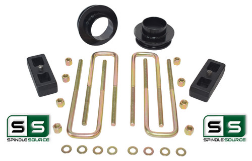 """2.5""""/2"""" SPACERS , REAR BLOCKS W/OUT O.L. FITS 88-00 CHEVY C2500/C3500 2WD 8 LUG"""