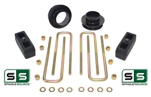 """3""""/3"""" SPACERS , REAR BLOCKS W/OUT O.L. FITS 88-00 CHEVY C2500/C3500 2WD 8 LUG"""