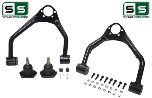 Upper Alignment Control arms for Lowered 2016 - 2018 Silverado 1500 / Sierra 1500 -- (Stamped Steel / Alum. Arm replacements)
