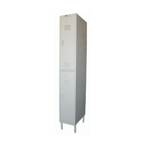 Premium Steel Lockers Two-Tier Steel Locker *CALL FOR ACCURATE PRICING*