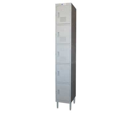 Premium Steel Lockers  5 TIER 12 X 16 X 77 *CALL FOR ACCURATE PRICING*