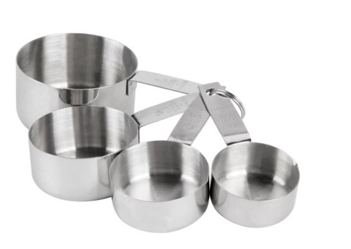 S/S MEASURING CUPS