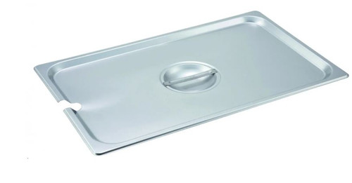 STEAM PAN LID 1/1 S/S SLOTTED