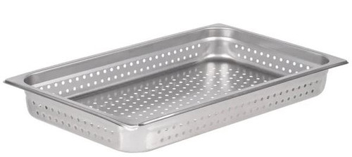 """PERFORATED STEAM PAN 1/1 2.5"""""""