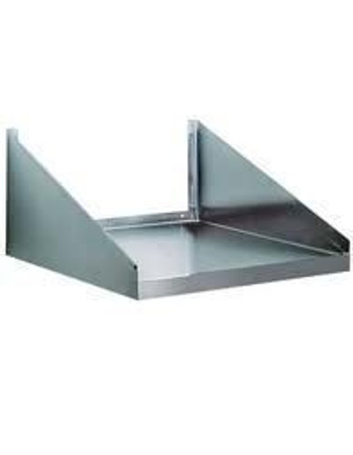 MS-2418 S/S Microwave Oven Wall Shelf