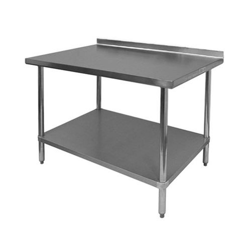 GSW WT-EB30x48 REAR UP TURN WORK TABLE *CALL FOR ACCURATE PRICING*
