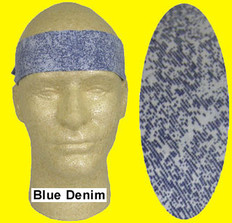 Occunomix #940-BDM Miracool Cooling Bandannas Blue Denim Color