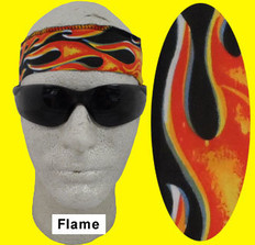 Occunomix #940-FLA Miracool Cooling Bandannas Flame Color