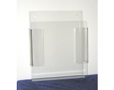 "AKLTD #AK-1222 Literature Holders - 9""W X 11-1/2""H X 2""D inches"