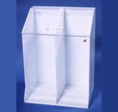 "AKLTD #AK-1485 Frock Holders - 2 Openings at Base - 22""W X 30""H X 15-1/2""D inches"