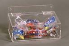 "AKLTD #AK-308 Earplug Holder with Lid - 9""W X 3-1/4""H X 6-3/4""D inches"
