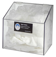 Rack Em # RE5119 1 Compartment Shoe Cover Holders with Lid, Clear PETG