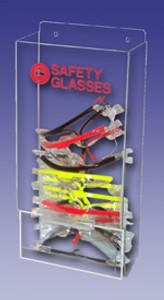 "AKLTD #AK-229-11 Safety Eyewear Holders - 8""W X 19""H X 4""D inches"