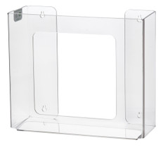 Rack Em # RE5103H 2-Box Horizontal Box Glove Holders, Clear