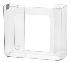 Rack Em # RE5103 2-Box Vertical Box Glove Holders, Clear