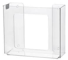 Rack Em # RE5103 2-Box Vertical Box Glove Holders, Clear