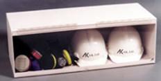 """AKLTD #AK-233 AKltd #AK-233 Safety Hard Hat Cabinet - 30-1/2""""W X 10-1/2""""H X 12-1/2""""D inches"""