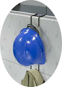 Rackems #5007 Safety Helmet Cubical Hook Rack 2 Hooks