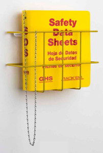 MSDS Binder, 1.5 inch, 3 Language - English, Spanish & French Canadian.