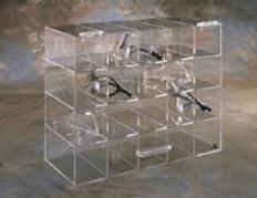 "AKLTD #AK-237 12 Unit Goggle Holder - 17""W X 12""H X 8""D inches"