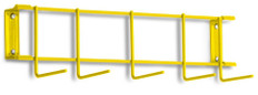 16 inch Utility / Sanitation Rack, Hook Detail Colors Vary