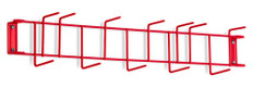 26 inch Utility / Sanitation Rack, (12) 2-1/2 inch Hooks - Hook Detail Typical For All Colors