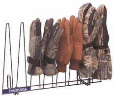 Glove Rack, Black, Holds 4 Pairs