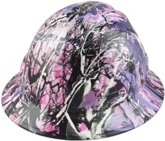 Glamor FULL BRIM Hardhats - Oblique View