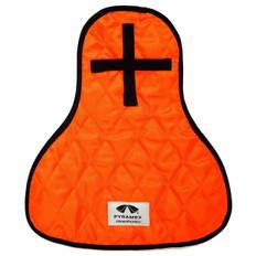 Pyramex #CNS140 Cooling Neck Shield - Hi-Viz Orange Color