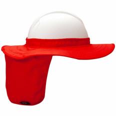 Pyramex #ML-HPSHADE40 Hard Hat Neck Shades - Orange