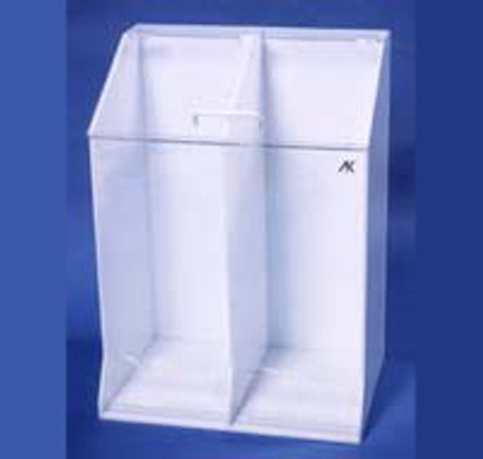 """AKLTD #AK-1485 Frock Holders - 2 Openings at Base - 22""""W X 30""""H X 15-1/2""""D inches"""