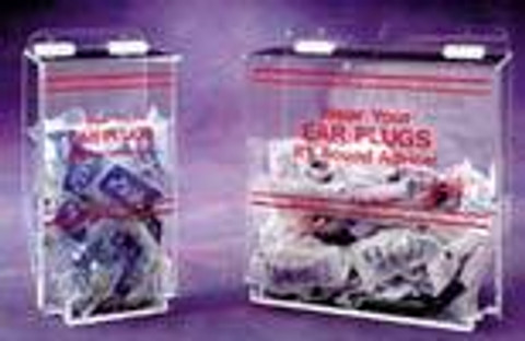"AKLTD #AK-300 Earplug Holders - Holds 200 Earplugs - 12""W X 12""H X 8""D inches"