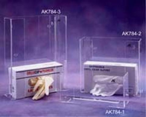 "AKLTD #AK-784-3 Triple Glove Box Holders - 11""W X 14-1/2""H X 4""D inches"
