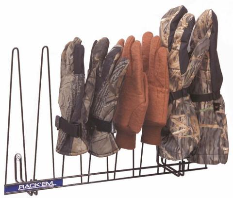 Glove Rack, Black, Holds 4 Pairs
