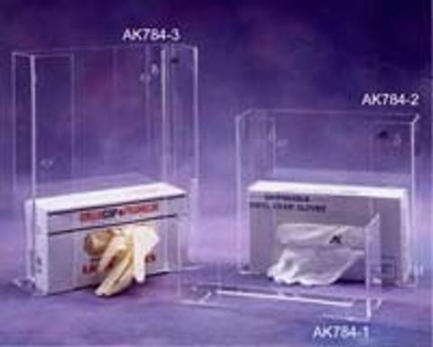 "AKLTD #AK-784-2 Double Glove Box Holder - 11""W X 10""H X 4""D inches"