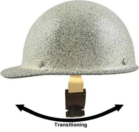 MSA Skullgard Cap Style Hard Hats With Swing Suspension Textured Stone