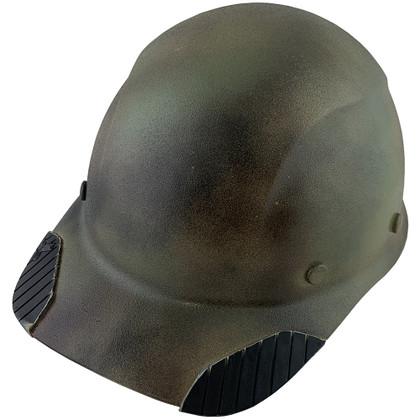 DAX Carbon Fiber Hard Hat - Cap Style Textured Camo ~  Oblique View