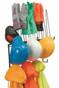 PPE Storage Rack, Holds 4 Hard Hats, 4pr. Gloves, 4 sets of rain-wear, Shelf for hats or earmuffs