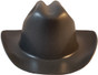 Jackson Stetson Style Safety Helmet with Ratchet Liners - Textured Gunmetal  - Front View